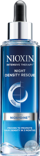 Nioxin Intensive Therapy Night Density Rescue Traitement Intensif Flacon Compte-Gouttes 70ml