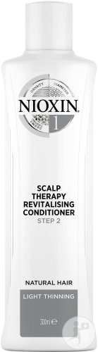 Nioxin System 1 Step 2 Scalp Therapy Revitalizing Conditioner Cheveux Naturels Flacon 300ml