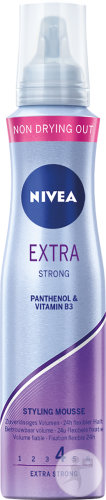 Nivea Extra Strong Styling Mousse Volume Fiable 24h Fixation Flexible 150ml