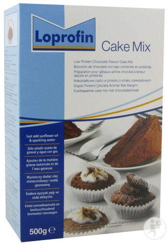 Nutricia Loprofin Cake Mix Chocolat Poudre 500g