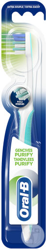Oral B Brosse Dents Man. Gencive Purify Ext.soft 1