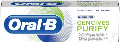 Oral-B Dentifrice Gencives Purify Blancheur 75ml