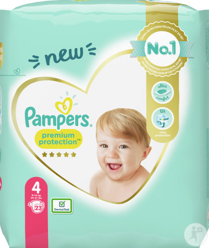 Pampers Premium Protection 9-14kg Taille 4 Couches 23