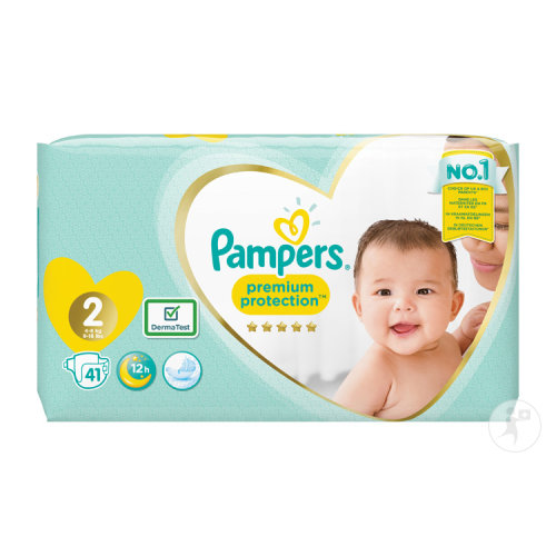 Pampers Premium Protection Taille 2 Mini 4-8kg Couches 41