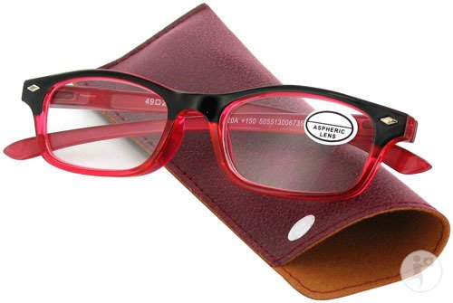 Pharmalens Pharmaglasses Lunettes De Lecture Dioptrie +2,50 Red