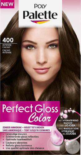 Poly Palette Perfect Gloss Color Sans Ammoniaque 400 Cacao Intense 115ml