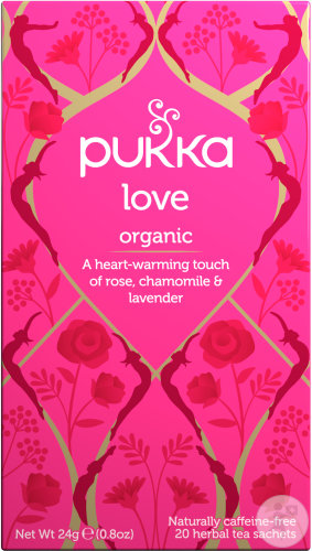 Pukka Herbs Infusion Biologique Amour 20 Sachets