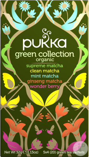 Pukka Herbs Infusion Biologique Green Collection 20 Sachets