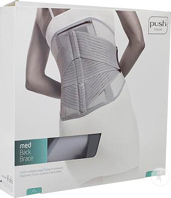 Push Braces Med Support Lombaire Taille 4 Pièce 1