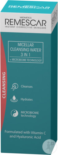 Remescar Micellar Cleansing Water 3-In-1 Flacon 200ml