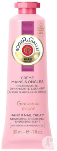 Roger&gallet Gingembre Rouge Creme Mains 30ml