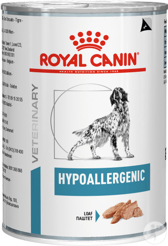 Royal Canin Veterinary Diet Hypoallergenic Canine 12x400g