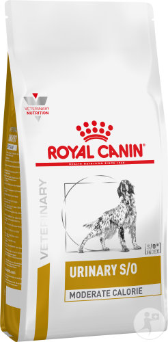 Royal Canin Veterinary Diet Urinary S/O Moderate Calorie Canine 1,5kg