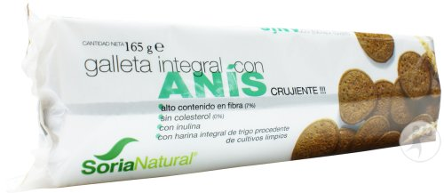 Soria Natural Biscuits Complets À L'Anis 165g
