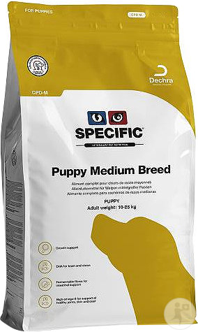 Specific CPD-M Puppy Medium Breed Chiot Race Moyenne 7kg