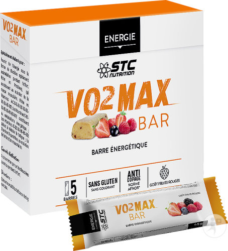 STC Nutrition VO2 Max Bar Fruits Rouges 5x45g