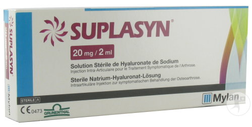 Suplasyn Seringue Injection Intra-Articulaire Solution Stérile 1x2ml