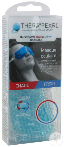 TheraPearl Masque Oculaire Chaud/Froid 1 Pièce