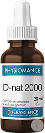 Therascience Physiomance D-nat 2000 Vitamine D Naturelle Flacon Gouttes 20ml (Phy341)