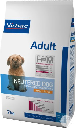 Virbac Adult Neutered Dog Small & Toy 7kg