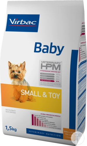 Virbac Baby Dog Small & Toy 1,5kg