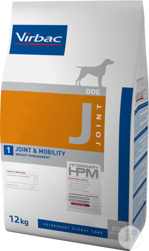 Virbac Veterinary HPM Chien J1 Joint & Mobility 12kg