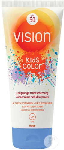 Vision Kids Color Protection Solaire IP50 Tube 150ml