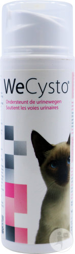 Wepharma WeCysto Aliment Complémentaire Pour Chats Voies Urinaires 100ml