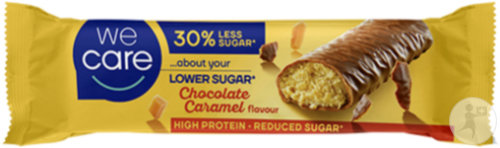Weight Care Carb Reduced High Protein Barre Saveur Chocolat Et Caramel 31g
