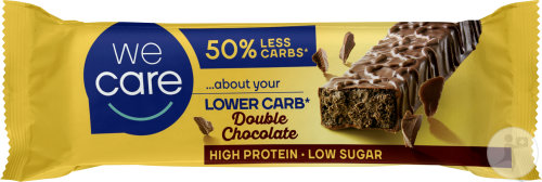 Weight Care Lower Carb Barre Double Chocolat 60g