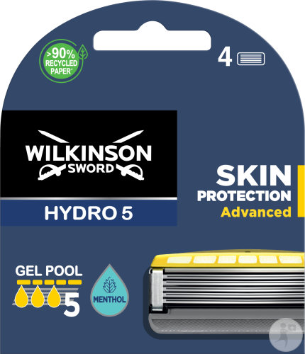 Wilkinson Hydro 5 Skin Protection Advanced Blades 4 Pack