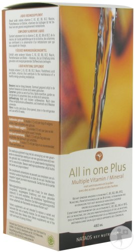 All In One Plus Multiple Vitamin/mineral 480ml