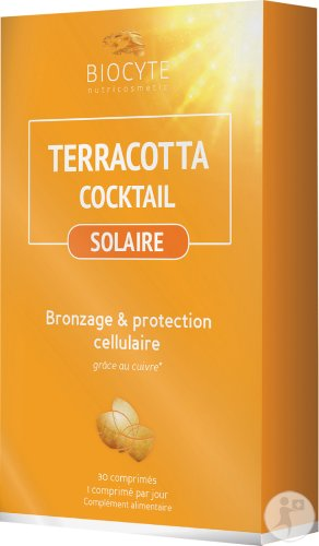 Biocyte Nutricosmetic Terracotta Cocktail Solaire 30 Tabletten