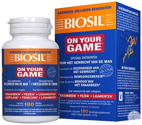 Biosil On Your Game 180 Capsules