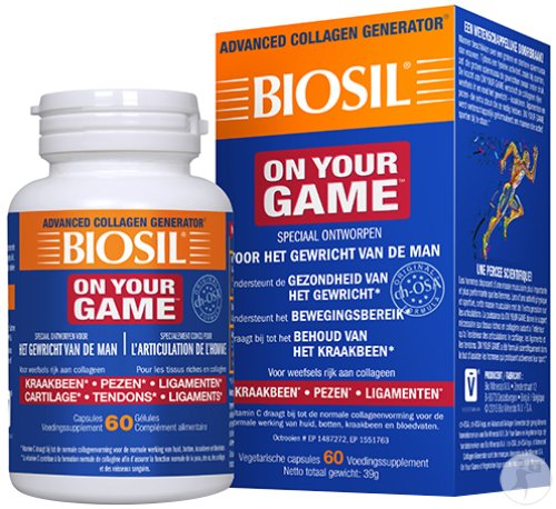 Biosil On Your Game 60 Capsules