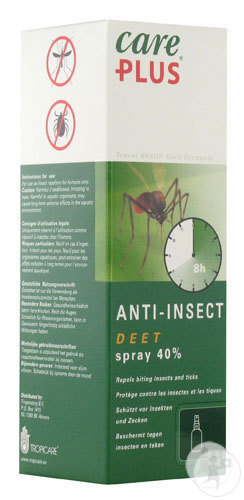 Care Plus Anti-Insect DEET 40% Spray 60ml