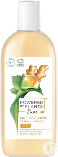 Dove Powered By Plants Olie Douchegel Gember 250ml