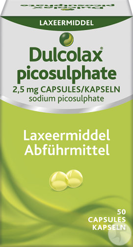 Dulcolax Picosulphate 2,5mg Laxeermiddel 50 Zachte Capsules