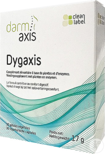 Dygaxis Digestive Comfort 30 Capsules