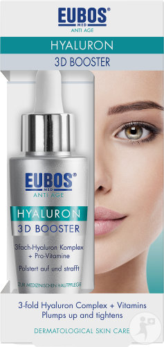 Eubos Anti-Age Hyaluron 3D Booster Hooggeconcentreerde Hydrogel Druppelfles 30ml