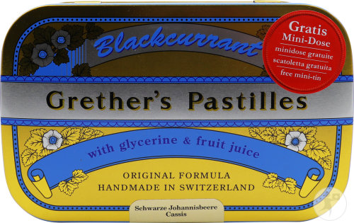 Grether's Blackcurrant Zuigtabletten 440g