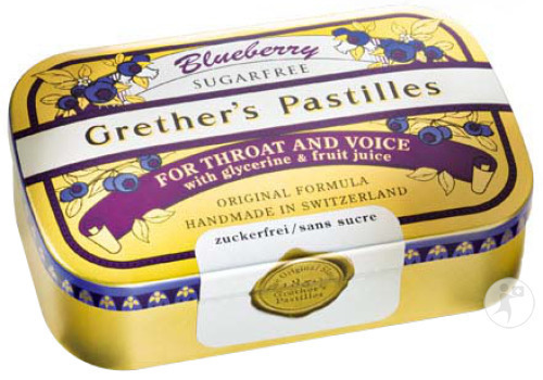 Grether's Pastilles Blueberry Zs 110g