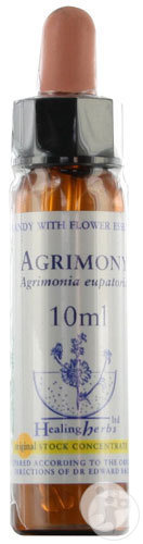 Healing Herbs Bach Bloesems Agrimony Druppels 10ml