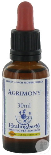 Healing Herbs Bach Bloesems Agrimony Druppels 30ml