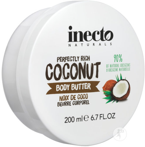 Inecto Naturals Coconut Body Butter Pot 200ml