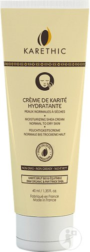 Karethic Hydraterende Galamcreme Gezicht Normale Tot Droge Huid Tube 40ml