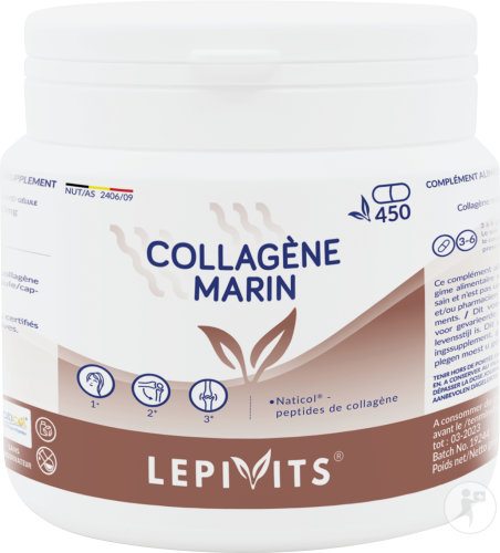 Leppin Marien Collageen 450 Capsules