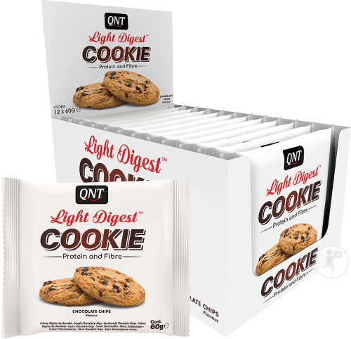 Light Digest Cookie Chocolate Chips 60g