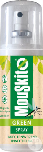 Mouskito Green Spray Insectenwerend Fles 100ml
