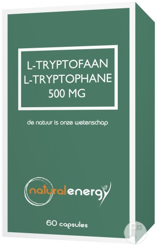 Natural Energy L-Tryptophane Capsules 60x500mg